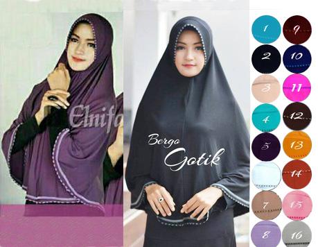 jilbab instann gotik
