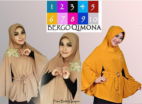 Jilbab Syar'i Komono / Qimona