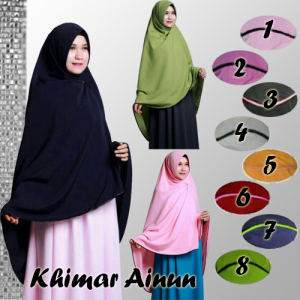 Khimar Aisyah With pet 10