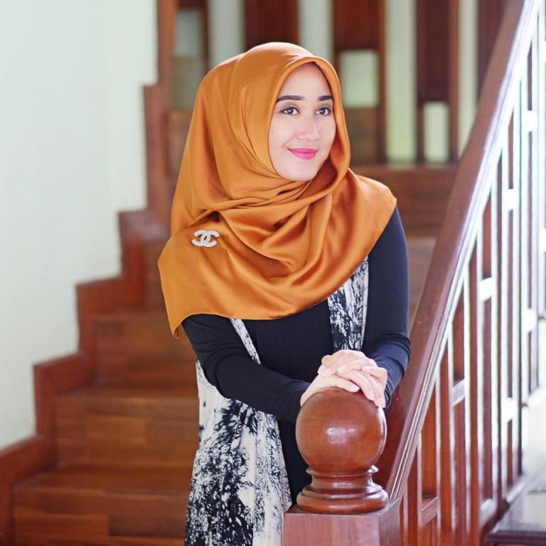 model jilbab dian