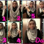 tutorial jilbab 1