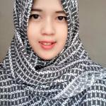 jilbab monochrome cantik