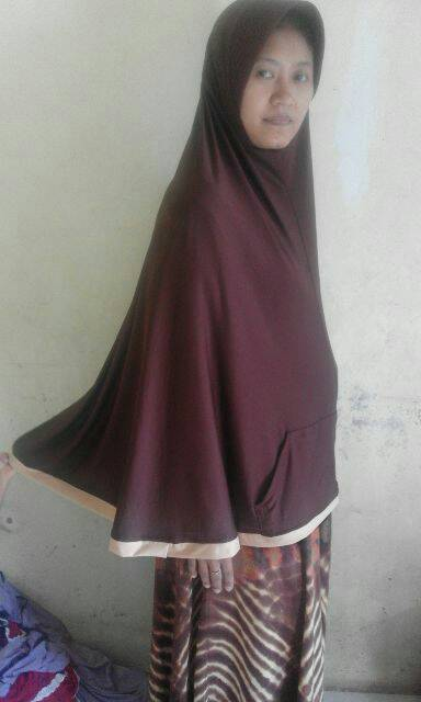jilbab farida pocket