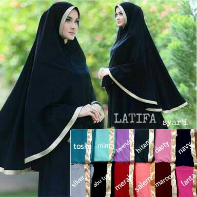 Jilbab Syar'i Latifa