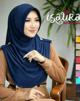 Jilbab Mini Isaura Pet 1