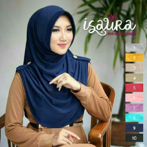Jilbab Mini Isaura Pet 6