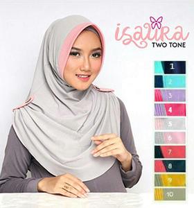Jilbab Isaura 2 Warna 2