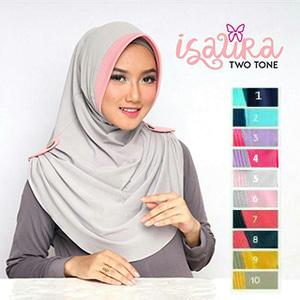 Jilbab Isaura 2 Warna 1