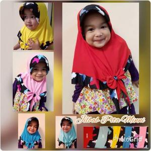 Jilbab Anak Pita MInni Kupu