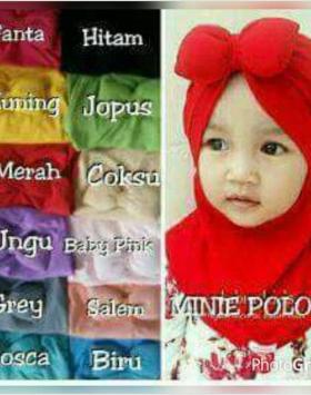 Jilbab Anak Minni Tali 1