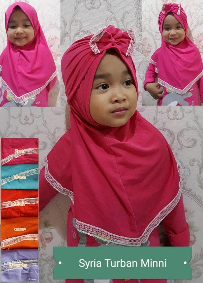 jilbab anak turban