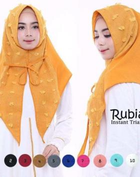 jilbab rubiah instan