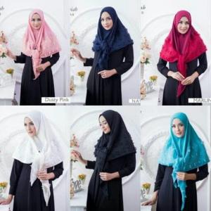 Hijab Segi Tiga Rubiah