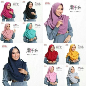 Jilbab Alifah Pet