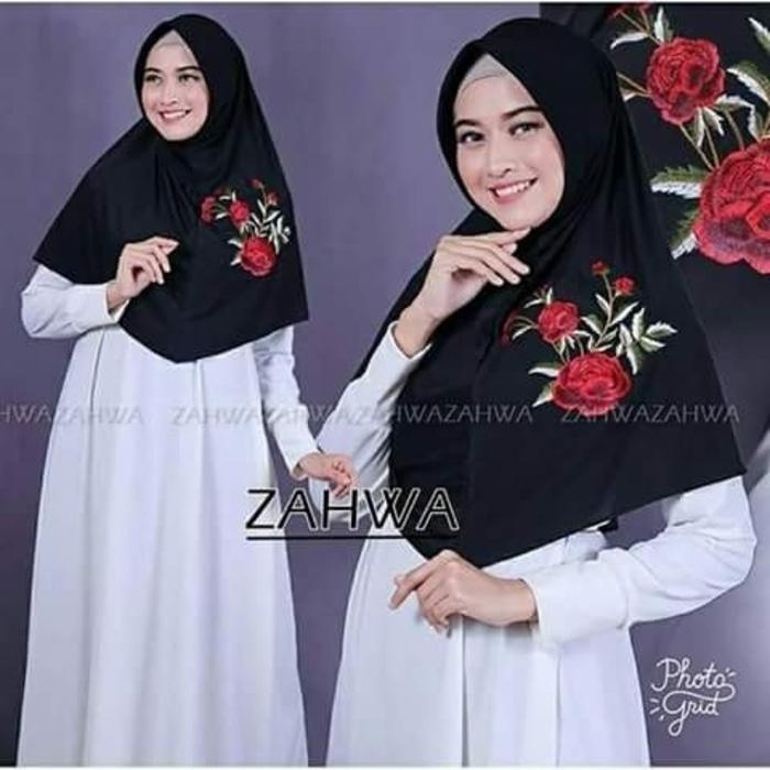 jilbab khimar zahwa