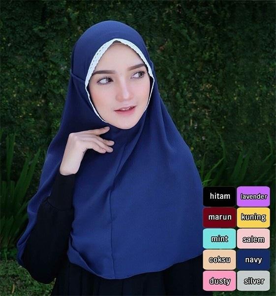 model jilbab tali