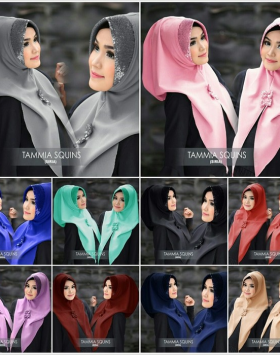 Hijab Instant Tammia squins 11
