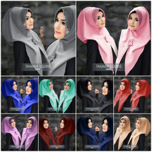 Hijab Instant Tammia squins