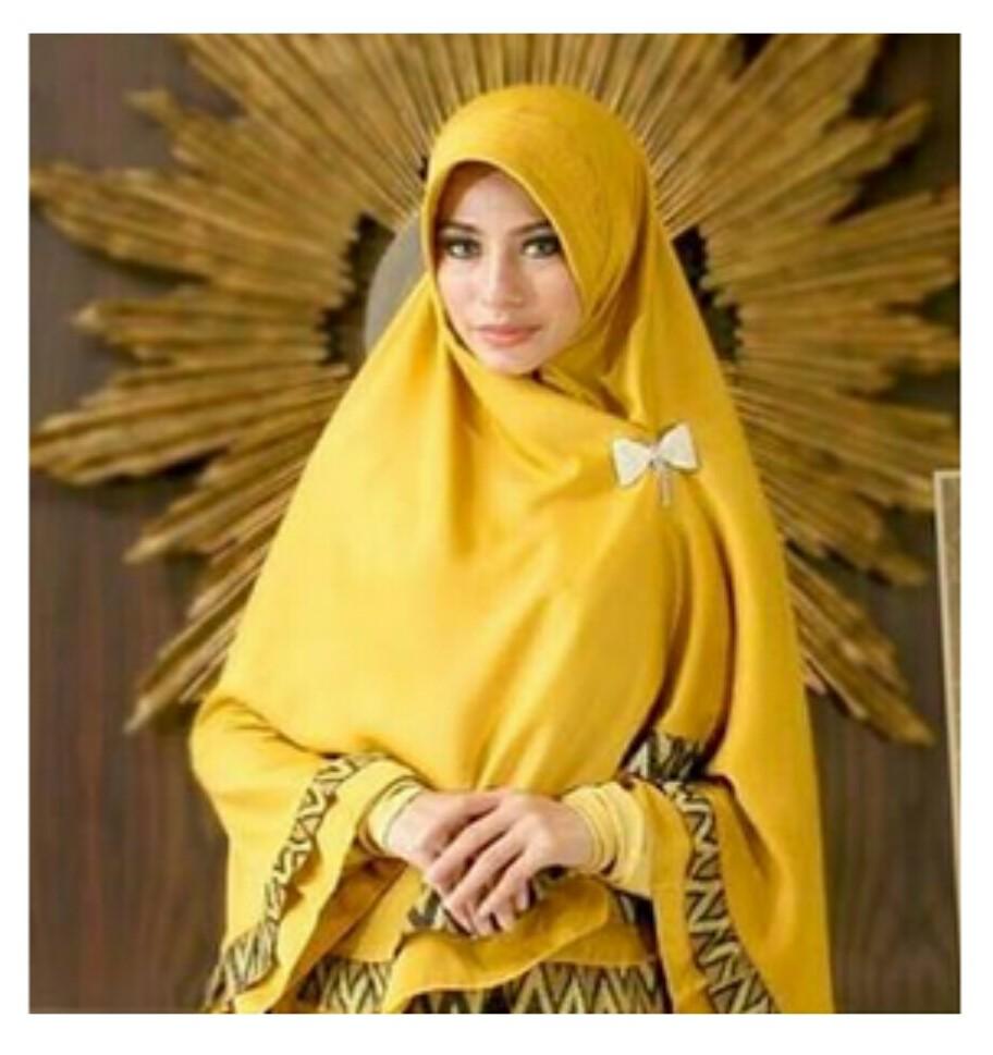 Pilihan Jilbab Instan Pesta Mewah yang Recommended Untuk Anda 2
