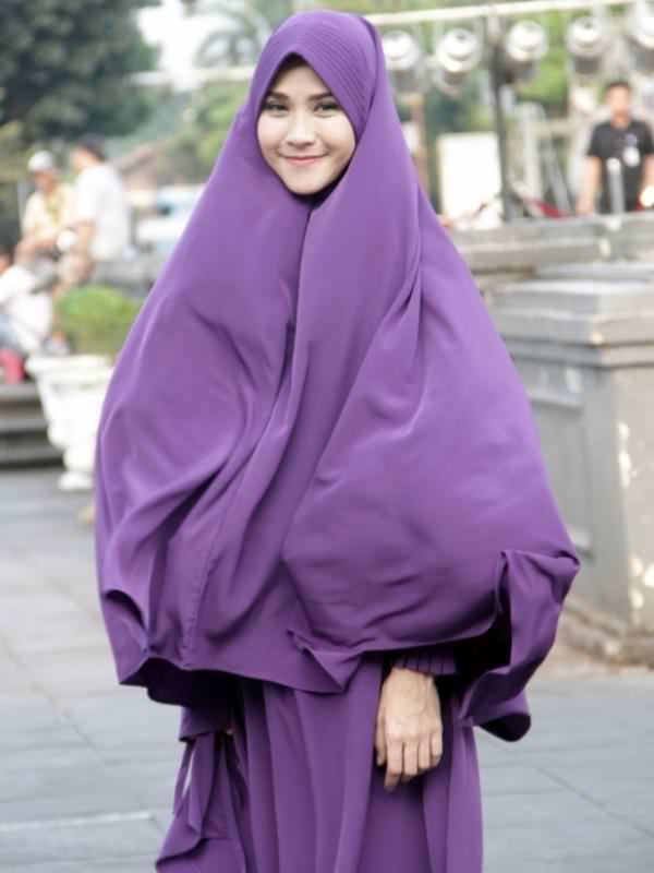 Model Kerudung Bergo Terbaru 2019 Yang Akan Tampil Cantik Untuk Muslimah Kekinian 1