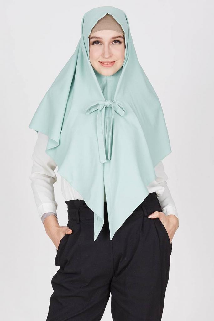 Model Kerudung Bergo Terbaru 2019 Yang Akan Tampil Cantik Untuk Muslimah Kekinian 4