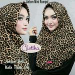 Jilbab Rumpol Leopard Cantika