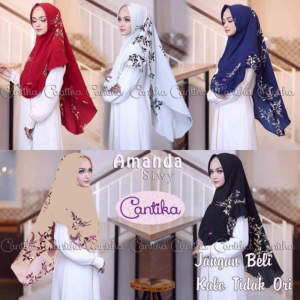 Khimar Aisyah With pet 6
