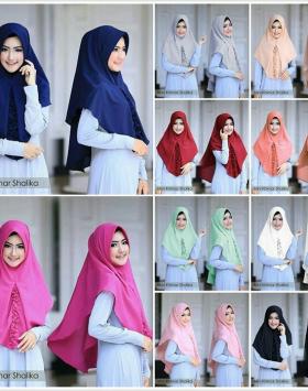 hijab Khimar Shalika Mini 1