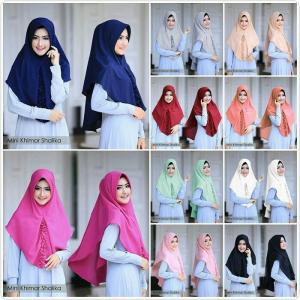 hijab Khimar Shalika Mini