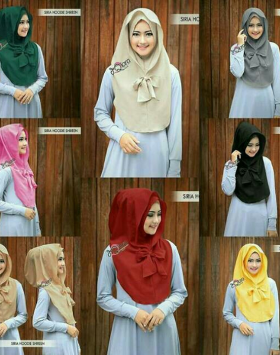 Hijab Hoddie Shireen 1