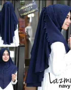 Hijab Khimar Lazmy Instan 9