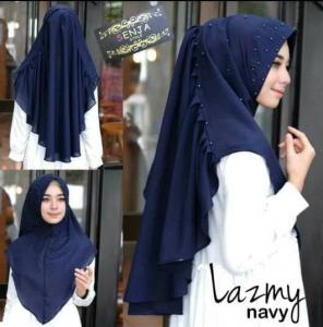 Hijab Khimar Lazmy Instan