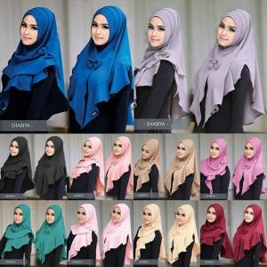 Hijab Instan Shabiya Lipit 2 in 1