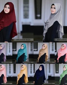 Hijab Khimar Mini Bilqis 2