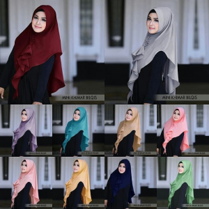Hijab Khimar Mini Bilqis