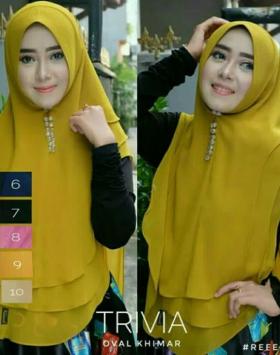 hijab oval