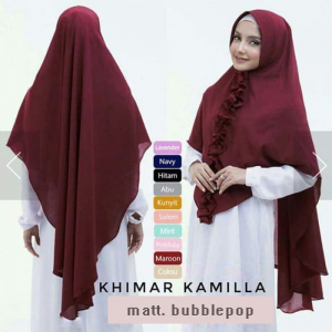 Jilbab Khimar Kamilla