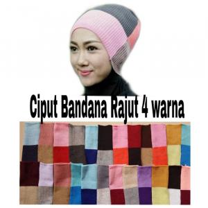 Ciput Rajut Bandana 4 warna
