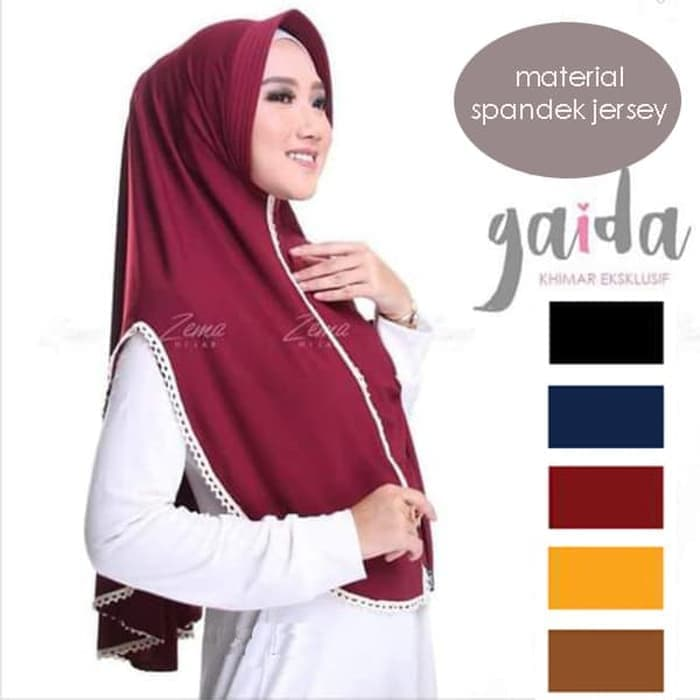 jilbab gaida instan