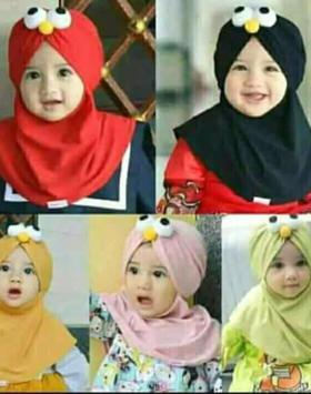 jilbab elmo anak