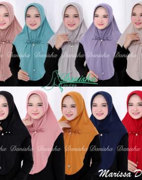 jilbab marissa pad
