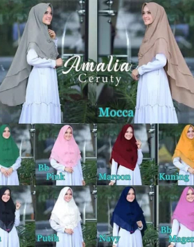 jilbab syari amalia