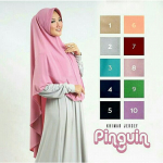 Hijab syar'i Pinguin Pad