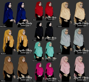 Hijab Syar'i Saqilla