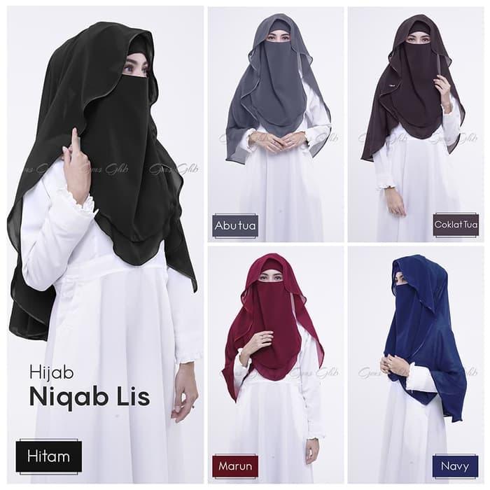 Cadar Niqab Lis