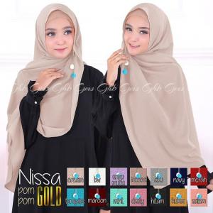 hijab nissa sabyan pompom