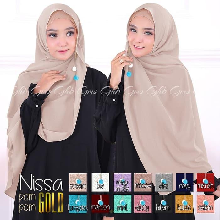 Hijab Nissan Sabyan POMPOM