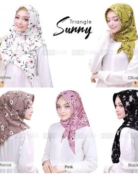 jilbab segitiga instan sunny