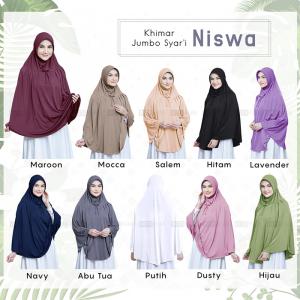 hijab jumbo syari