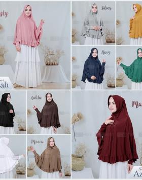 model hijab azizah